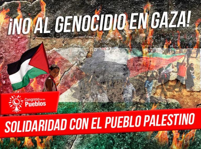 [Comunicado] Rechazamos la Política Genocida