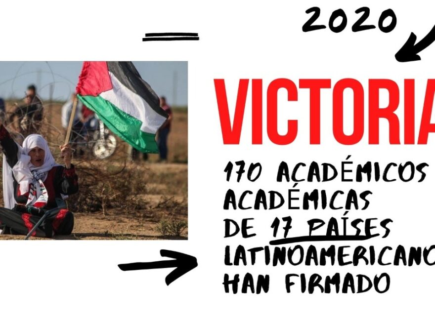 Victoria boicot académico